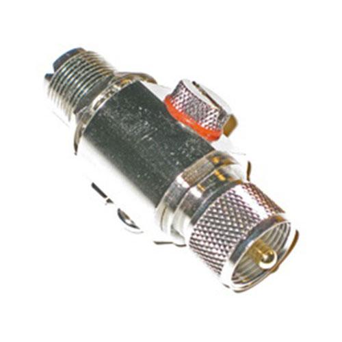 Грозоразрядник 0-6ГГц 50Вт UHF(M)-UHF(F) типа