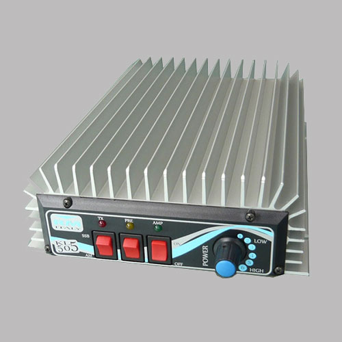 СПЕЦИФИКАЦИЯ Частотный диапазон: 1,8 - 30 МГц; Входная мощность: 1-10 Ватт; Выходная мощность: 60-300 Ватт; Напряжение питания: 12-14 В; Потребляемый ток: 10-34 А; Модуляция: AM/FM/SSB; Допустимое для работы значение КСВ: 1-1,5; Встроенный предусилитель 26дБ; 6 уровней выходной мощности; Тип разъёма PL-259 (UHF-female) Размер, мм: 170x62x295.